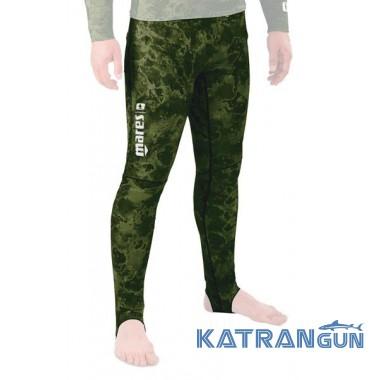 Лайкровые камуфляжные штаны Mares Rash Guard Camo Green