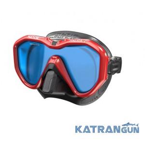 Подводная маска с просветлёнными стёклами Seac Sub Italica