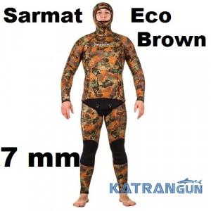 Гидрокостюм Marlin Sarmat Eco Brown 7 мм