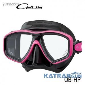 Двухстекольная маска для дайвинга Tusa Ceos HP