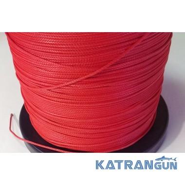 Линь для подводного ружья Katrangun Clyneema 2 мм, красный