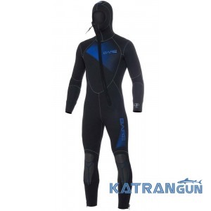 Гидрокостюм для дайвинга Bare Sport Hooded Full 7мм