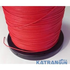 Лінь для підводного полювання Kalkan Clyneema 2 мм; червона