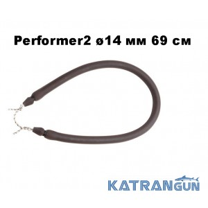 Тяга для арбалета кольцевая Omer Performer2 ø14 мм 69 см; зацеп Dyneema