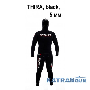 Гладкий гидрокостюм Pathos Team, 5 мм