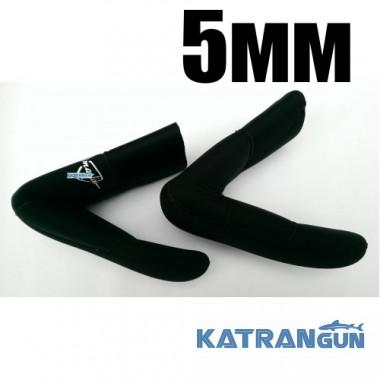 Носки подводной охоты KatranGun Hunter Pro Anatomic Duratex 5 мм, нейлон/открытая пора