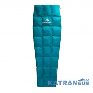 Самый легкий спальник Sea to Summit Traveller TR1 Large L Zip Ud