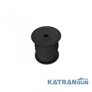 Линь черный нейлоновый Mares 1,6 мм 50 м