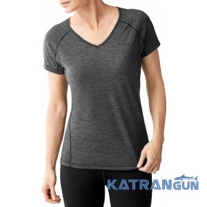 Женская термофутболка с добавлением шерсти Smartwool Women's PhD Ultra Light Short Sleeve NEW