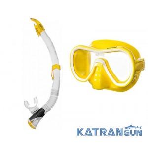 Набір для басейну Seac Sub маска Giglio + трубка Fast Tech