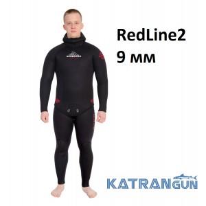 Гидрокостюм Scorpena RedLine2; 9 мм