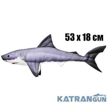 Подушка-іграшка Акула (53х18 см)