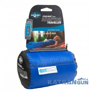 Вкладыш к спальнику Sea to Summit Coolmax Adaptor Traveller Liner