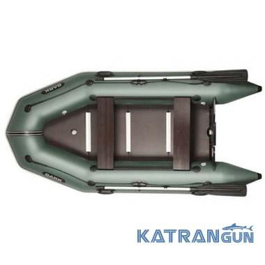 Надувные лодки барк BT-310SD, двигающиеся сиденья