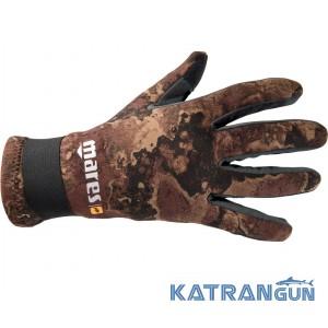 Перчатки для дайвинга Mares Amara Camo Brown 2 mm
