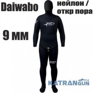 Зимовий гідрокостюм для підводного полювання XT Diving Pro Daiwabo 9 мм; нейлон / відкрита пора