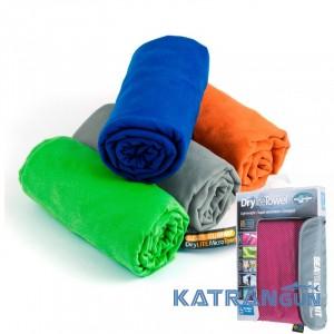 Быстросохнущее туристическое полотенце Sea to Summit DryLite Towel S