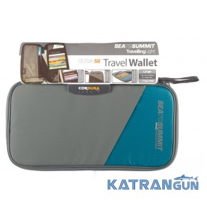 Кошелек Sea to Summit Travel Wallet RFID Blue