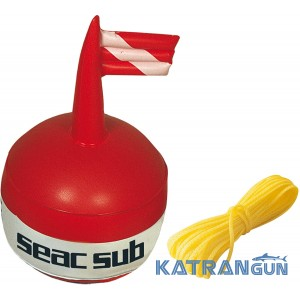Буй Seac Sub Round с линем 25 м