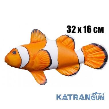 Подушка-игрушка Рыба-клоун (32х16 см)