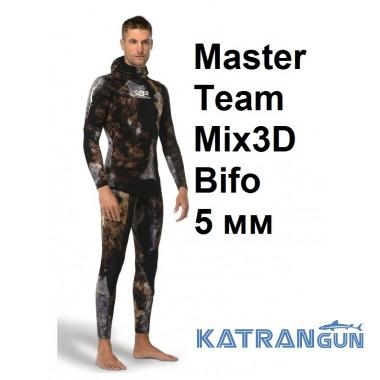 Гидрокостюм с 3D камуфляжем Omer Master Team Mix3D Bifo 5 мм