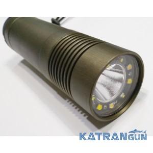 Подводный фонарь Волга (без аккумуляторов и зарядки)