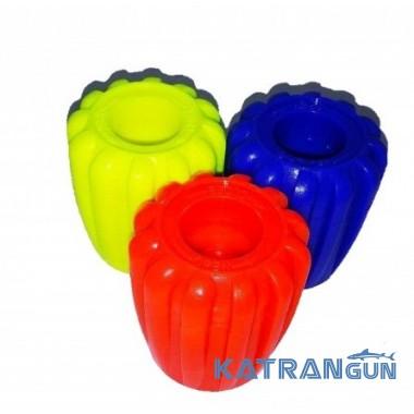 BS Diver Рукоятка пластикова для вентиля балона; флуоресцентна