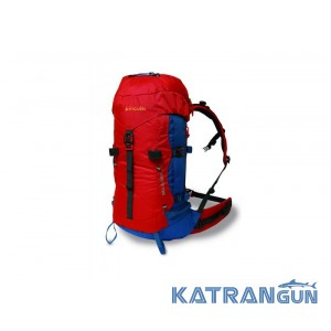 Рюкзак для любителів активного відпочинку Pinguin Boulder 38, Red