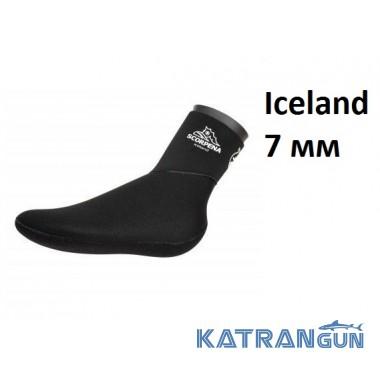 Шкарпетки неопренові сухі Scorpena Iceland 7 мм