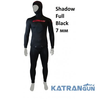 Гидрокостюм Epsealon Shadow Full Black 7 мм