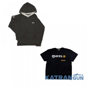 Фирменные футболки, куртки для дайверов