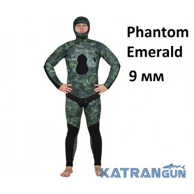 Гидрокостюм для холодной воды Marlin Phantom Emerald 9 мм