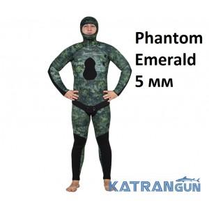 Гідрокостюм Marlin Phantom Emerald 5 мм