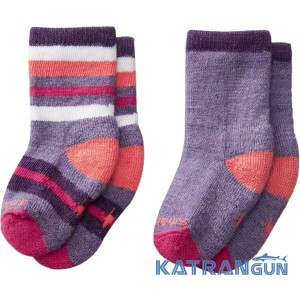 Шкарпетки для самих маленьких SmartWool Sock Sampler 2 пари