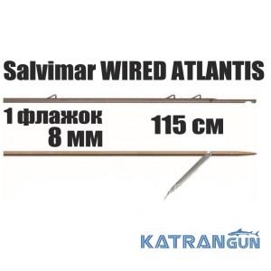 Гарпун таитянский Salvimar WIRED ATLANTIS; 8 мм; 1 флажок; 115 см