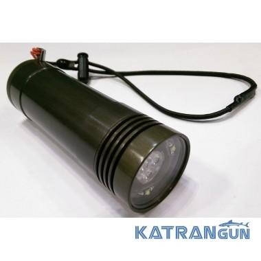 Майстрові ліхтарі для підводного полювання АкваМастер Пархом 6-XPG