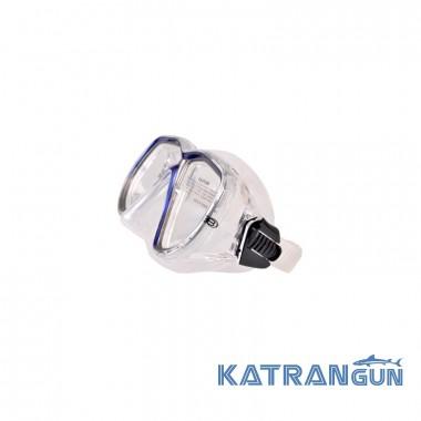 Маска для дайвинга Bare Duo Compact прозрачно-синяя