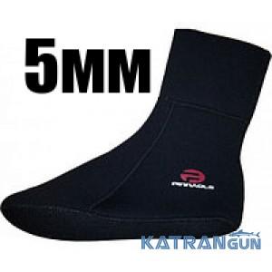 Шкарпетки підводного полювання Pinnacle Spearfishing 5 мм; підошва з компресійного неопрена розмір 8-12
