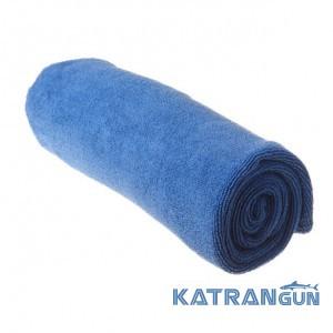 Легкое туристическое полотенце Sea To Summit Tek Towel S, Cobalt Blue