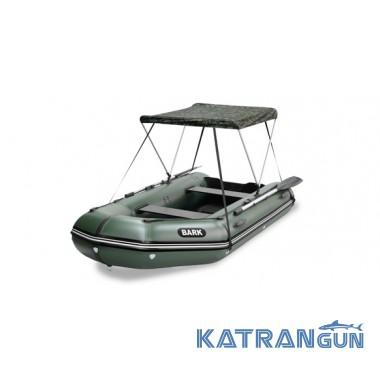 Тент для лодок пвх Bark, моделей 290-360