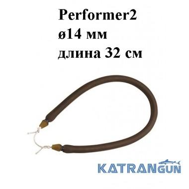 Тяга для арбалета Omer Performer2 ø14 мм 32 см; зацеп Dyneema