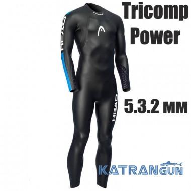 Гидрокостюм Head Tricomp Power 5.3.2 мм