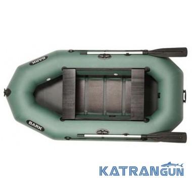 Надувные лодки барк B-270D, передвижные сидения