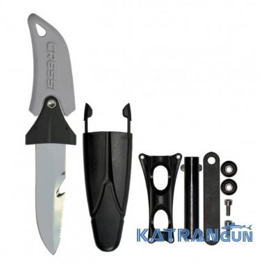 Крепление ножа на шланг Cressi Sub Lama Ara