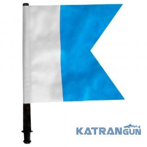 Флаг для буя синий Epsealon Alpha
