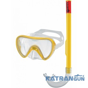 Набор (маска+трубка) для плавания Mares Tortuga