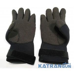 Кевларовые перчатки для подводной охоты IST Semi Dry Kevlar Gloves 5 мм