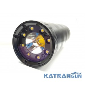Подводный фонарь Ferei W180 CW; белый свет, без батарей