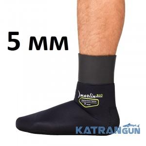 Носки Marlin WaterLock Nylon Eco 5 мм; нейлон/нейлон
