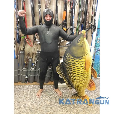 Гідрокостюм голий зимовий KatranGun Hunter Yamamoto 39; 10 мм; гладкий / відкрита пора